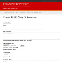RNA2DMut | Moss Lab